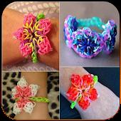 Classy rubber bracelets