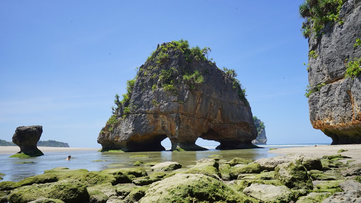 Watu Maladong Beach in Sumba
