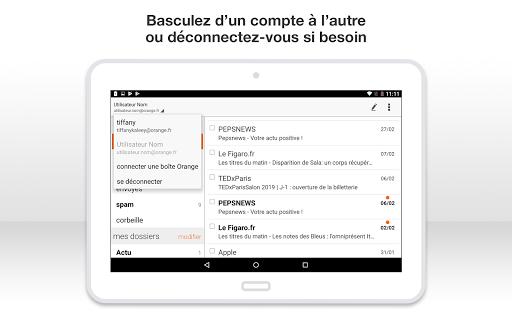 Mail Orange, 1er mail français screenshot 19