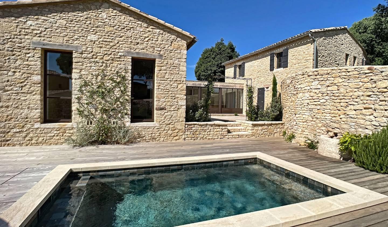 Maison avec piscine Gordes