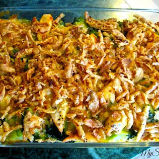 Broccoli Casserole With French Fried Onions Recipes.