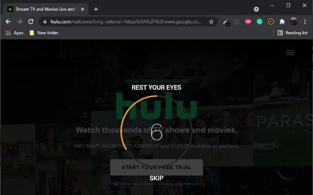 Eye Saver - 20-20-20 Break Reminder