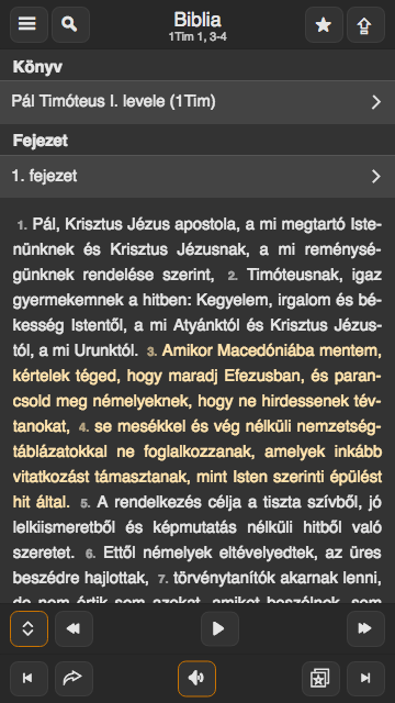 Károli-Biblia- screenshot