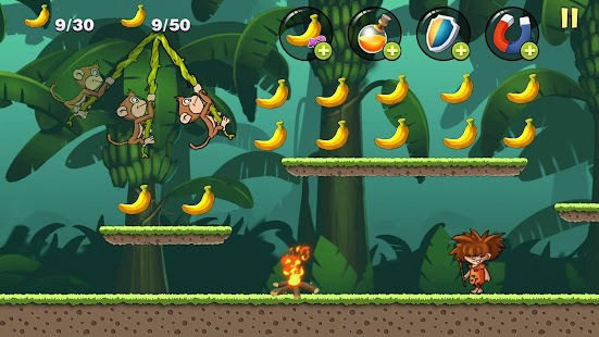 Banana Monkey - Banana Jungle Screenshot