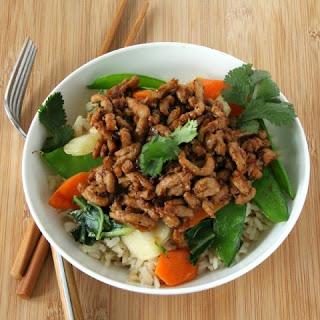 Sesame Pork Stir-Fry Bowl