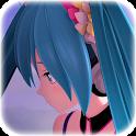 Emotional Anime Video Wallpaper of Hatsune Miku icon