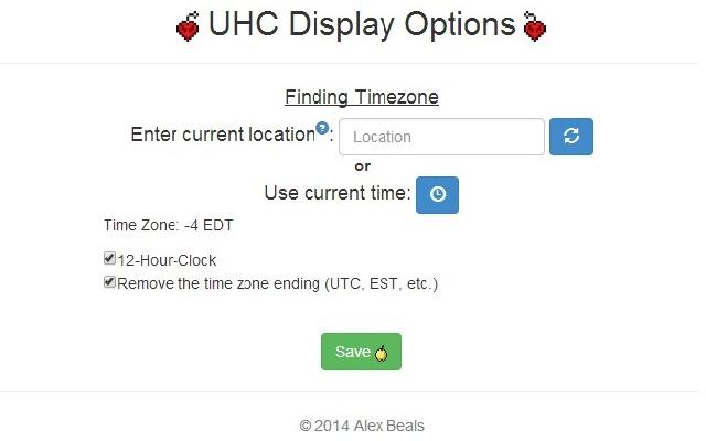 UHC Display