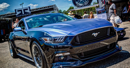 Mustang Week 2015: Autocross and Infield
