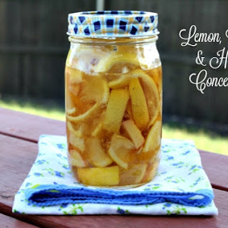 Lemon, Ginger & Honey Concentrate (Sore Throat Tea)