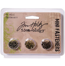 Tim Holtz Idea-Ology .25´ Screw-Top Mini Fasteners