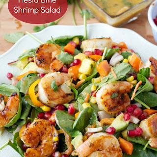 Spicy Honey Lime Shrimp Kabobs