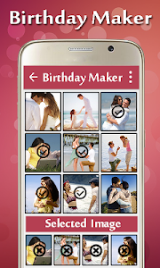 Birthday Video Maker screenshot 1