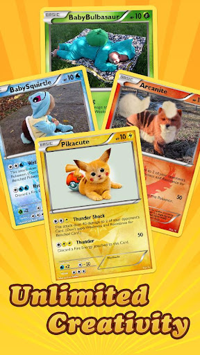 Card Maker for Pokemon GO screenshot