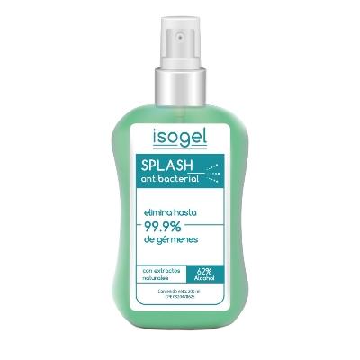 splash antibacterial isogel 200ml