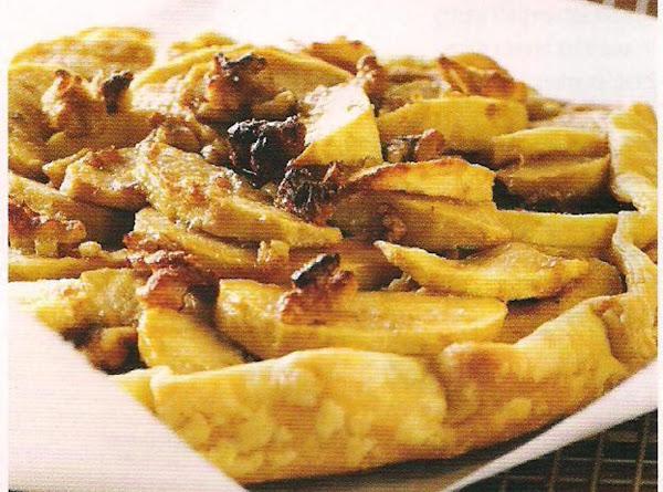 Apple Walnut Crostata Recipe