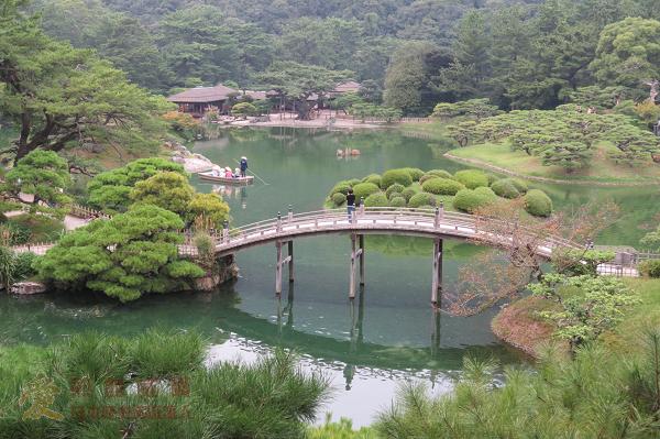 日本紀行:栗林公園(米其林三星景點) @ 高松