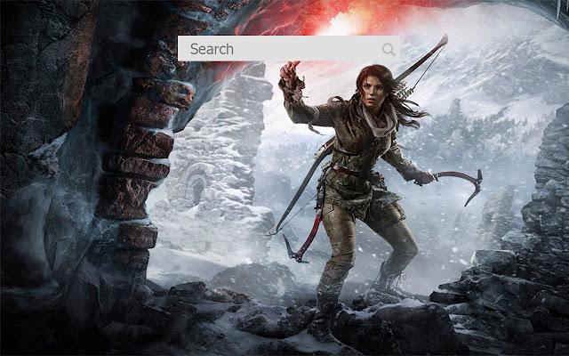 New Tab Wallpaper Tomb Raider