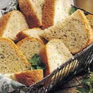 Bread Machine Fresh Herb Bread.