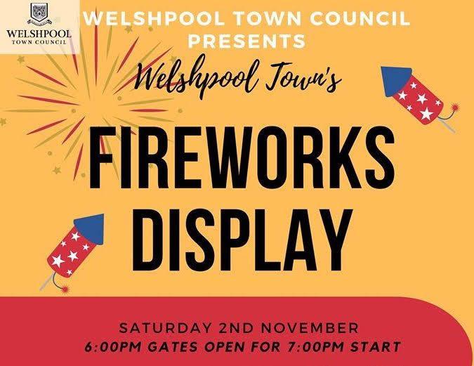 Free fireworks display Saturday