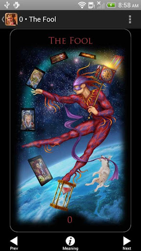 Legacy of the Divine Tarot screenshot 1