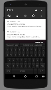 TRANSKEY - translator keyboard screenshot 2