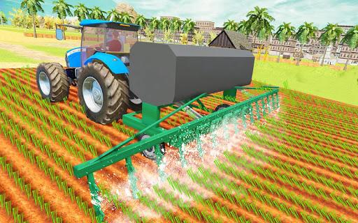 Modern Tractor Farming Simulator: Offline Games screenshots 22