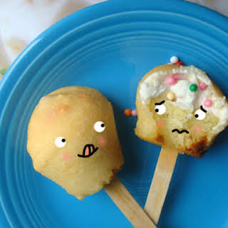 Deep-Fried Cupcakes on a Stick.
