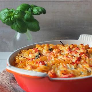 Chicken Tomato Sauce Pasta Bake Recipes