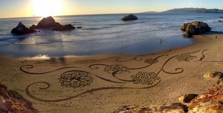 Photo: 'Flow II' Ocean Beach, San Francisco 2013  Design inspiration from Jess Volinski of blue67design.com.