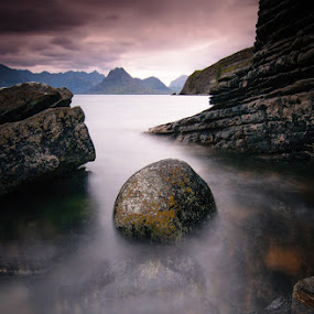 Elgol by Peter Bargh - Landscapes Waterscapes ( cuillins, skye, elgol )