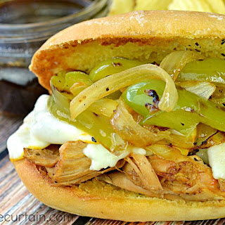 #ad Cornish Hen French Dip Sandwiches
