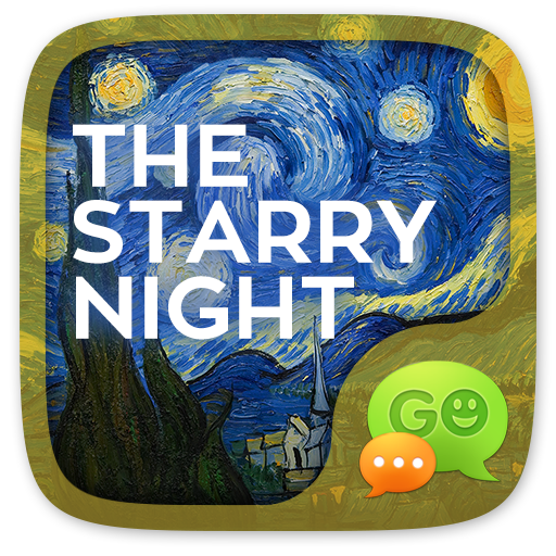 FREE GOSMS STARRY NIGHT THEME