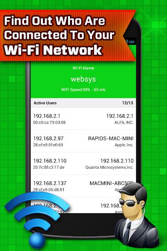 Who Uses My Wifi – Wifi Hacker