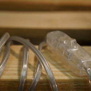 câble pour luminaire de couleur transparent