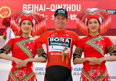 Leider Ackermann wint derde etappe in Tour of Guangxhi