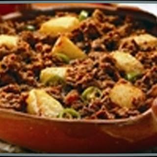 Chorizo Con Papas Recipe