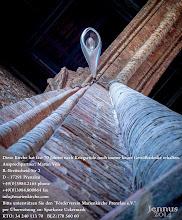 """Photo: Die St. Marien Kirche hat fast 70 Jahren nach Kriegsende noch immer keine Gewölbedecke erhalten. Ansprechpartner: Martin Völz R.-Breitscheid-Str. 2 D - 17291 Prenzlau +49(0)3984.2165 phone +49(0)3984.800864 fax info@marienkirche.com Bitte unterstützen Sie den """"Förderverein Marienkirche Prenzlau e.V."""" per Überweisung Sparkasse Uckermark KTO 34 240 113 70 BLZ 170 560 60"""