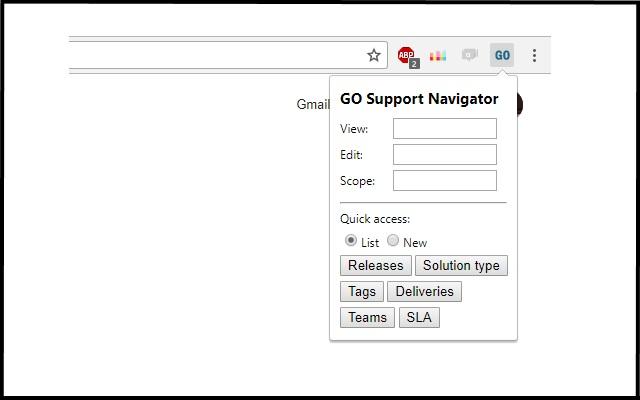 GO Support Navigator