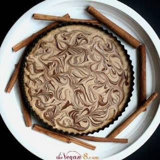 Raw Vegan Cinnamon Spice Cheesecake.