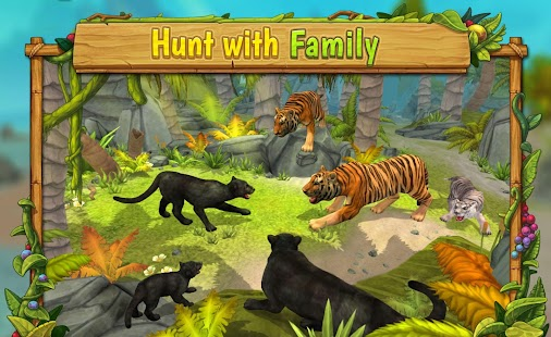 Panther Family Sim Online : Play Online - náhled