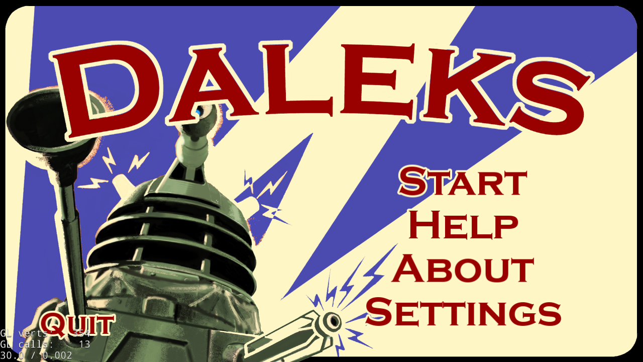 Daleks- screenshot