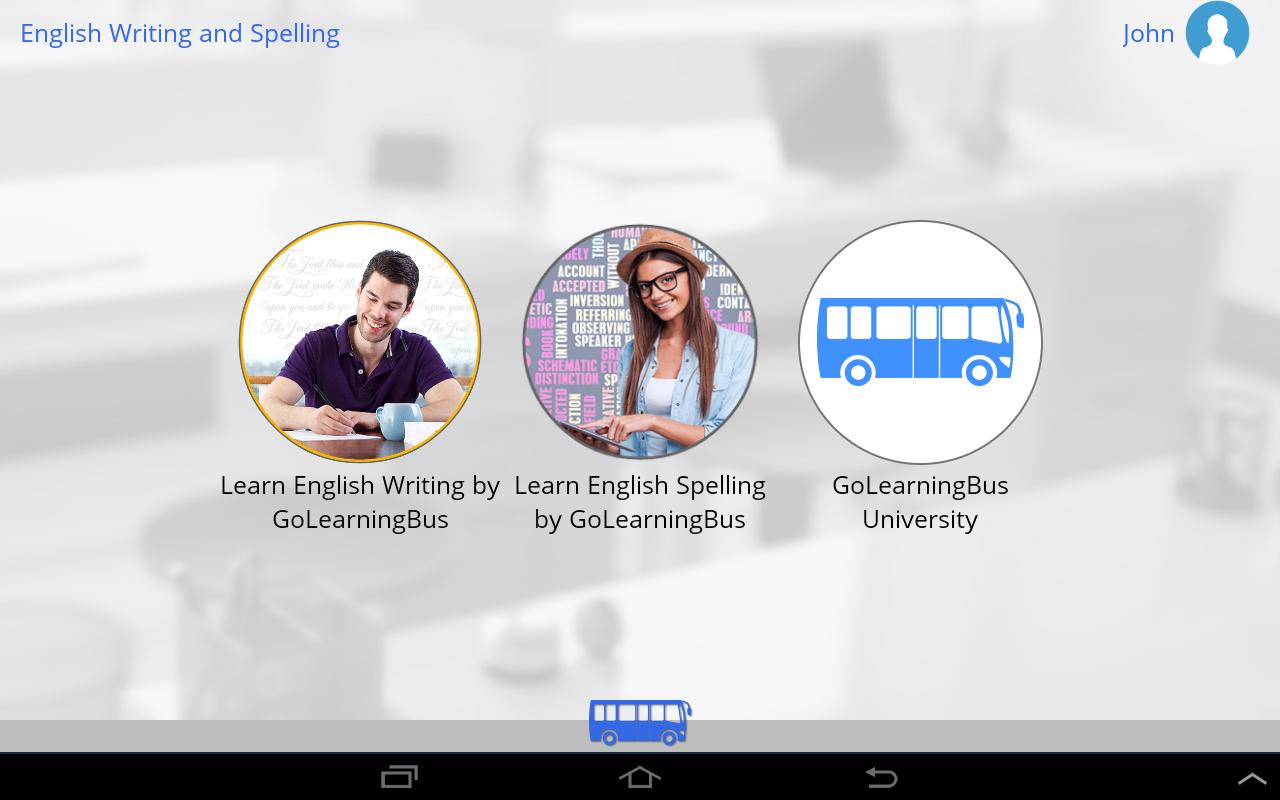English writing app