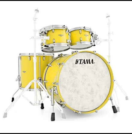 Tama Star Walnut - TW42RZS-SYL - Sunny Yellow Lacquer