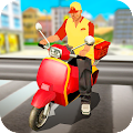 Motorbike Pizza Delivery download