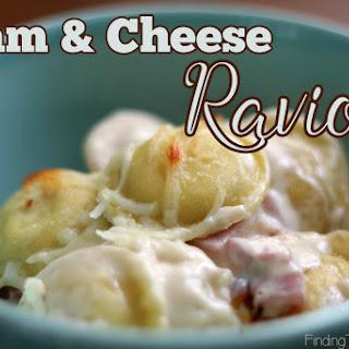 Ham and Cheese Ravioli.