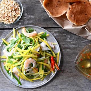 Vietnamese Mango Salad w/ Shrimp (Goi Xoai)