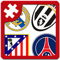 Football: logo puzzle quiz icon