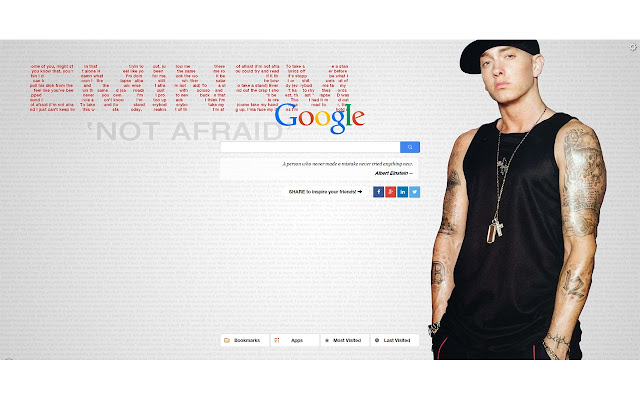 Eminem New Tab