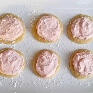 Soft Sugar Cookies.