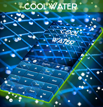Cool Water Keyboard 1.224.1.81 screenshot 933397